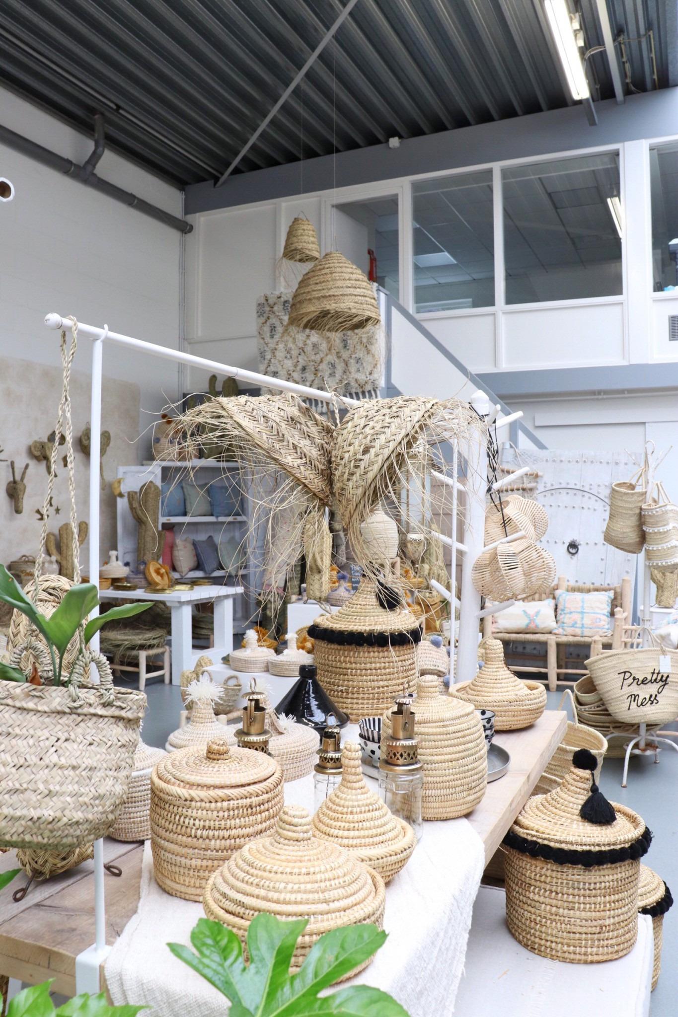 Marokkaanse handgemaakte items in deze hotspot