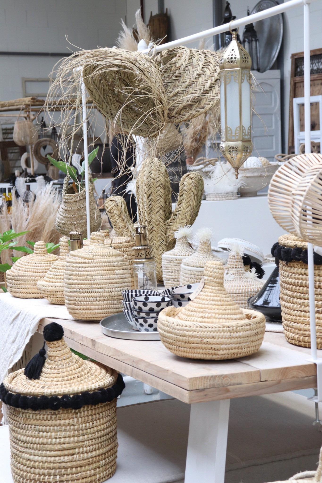 Loods Noa May: interieur winkel  Marokko meets Scandinavië