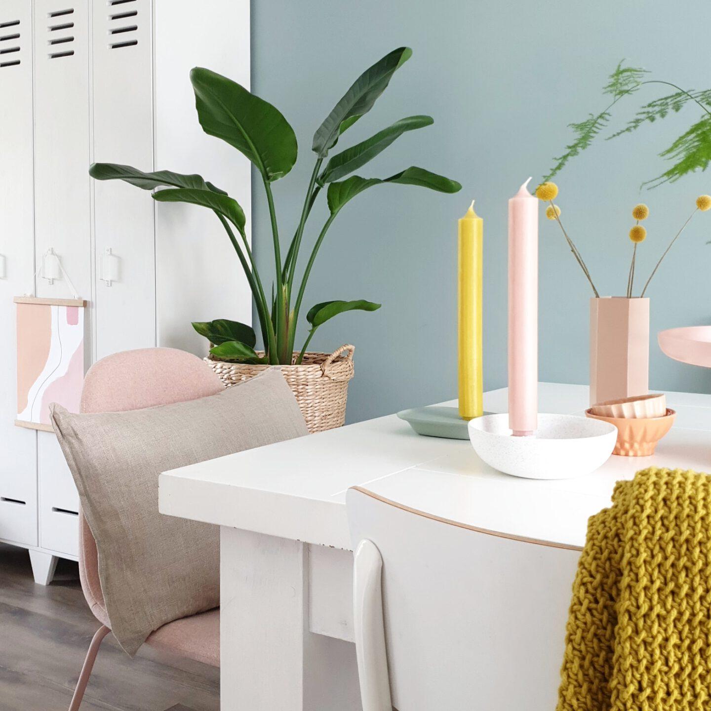 Favoriete kamer in huis van blogger Amanda van mijn-huisje. Ze deelt haar eethoek, haar favo plekje