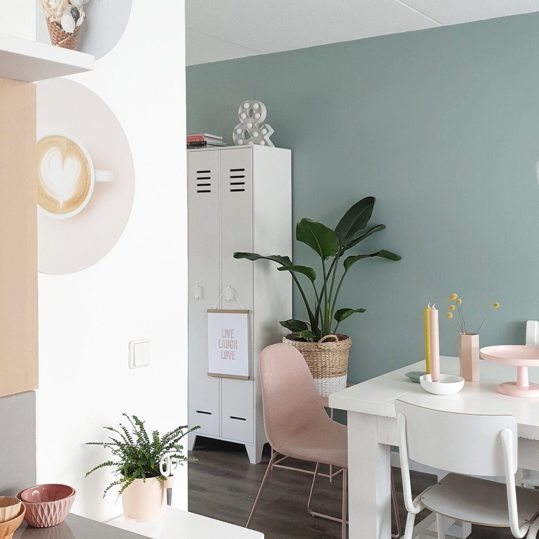 FavorieteFavoriete kamer in huis van blogger Amanda van mijn-huisje. Ze deelt haar eethoek, haar favo plekje kamer in huis van blogger Amanda van mijn-huisje