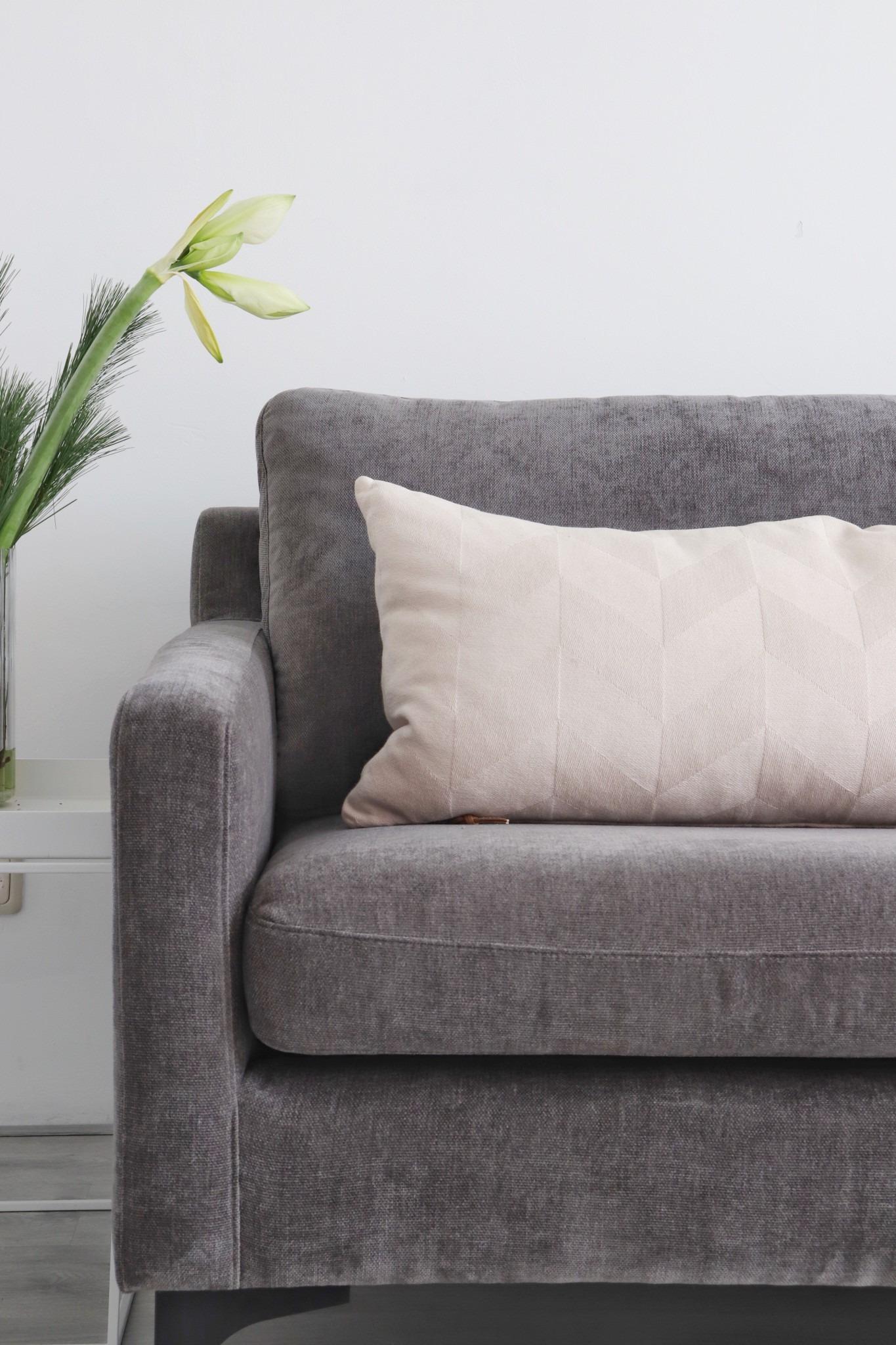 Sofacompany bank Ashta in Dannu Steel Grey