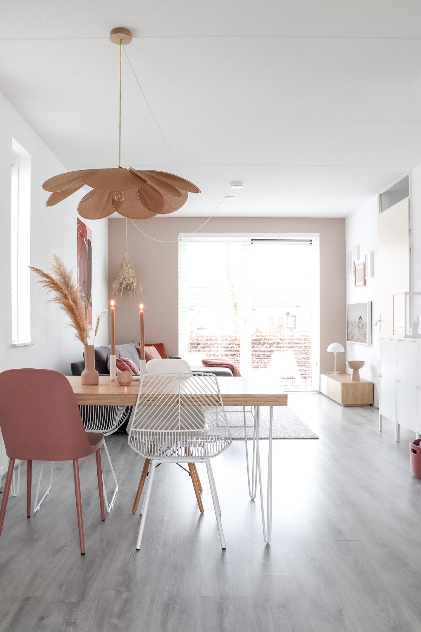 Georges store hanglamp nude ombre